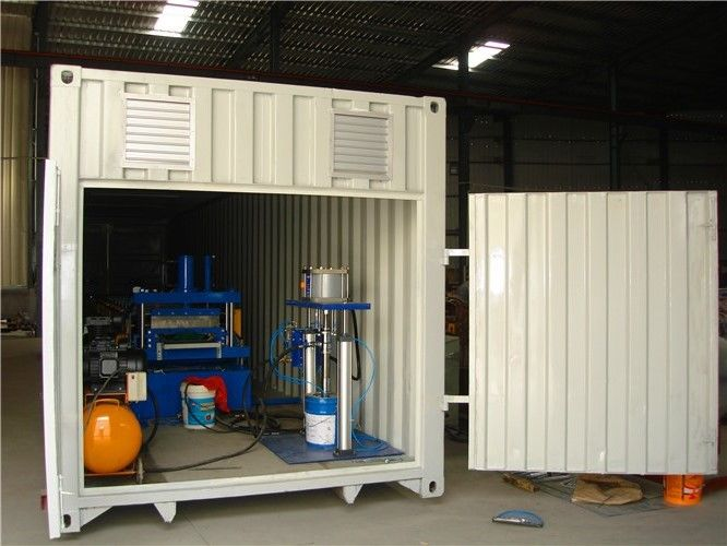 Building Site Standing Seam Roof Roll Forming Machine